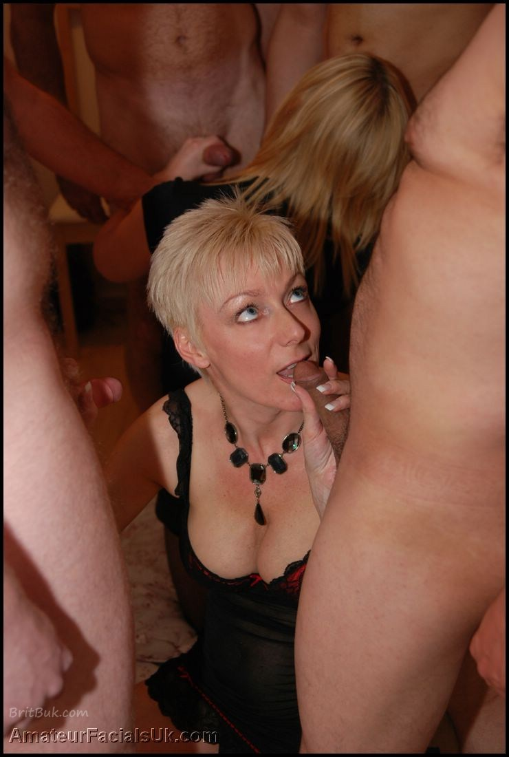 Gorgeous british donna is tricked into fucking three guys 10