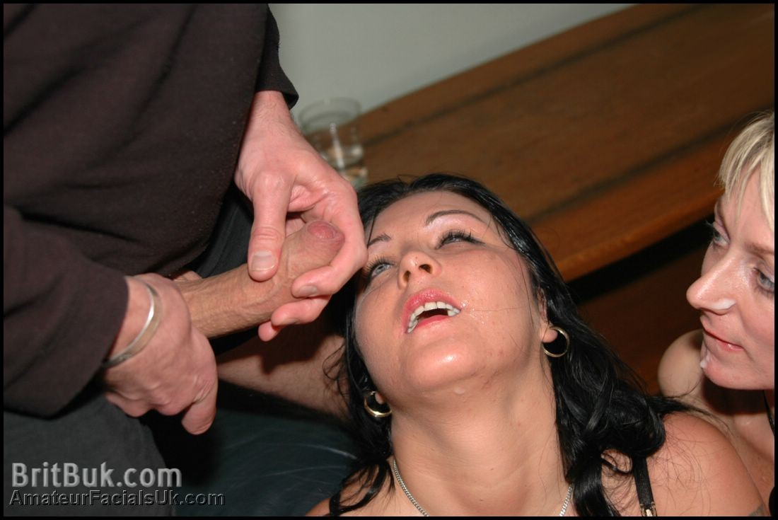 Angel D with Jade, ready to get bathed in hot semen