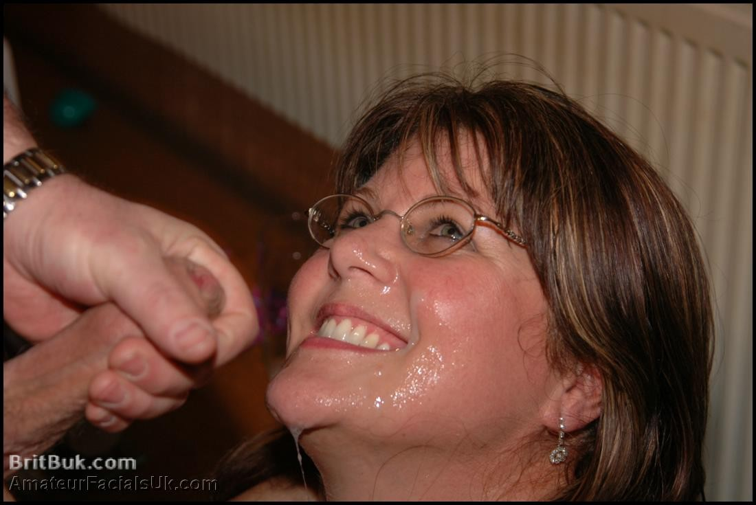 Excited Sexy milf cum facial apologise, can