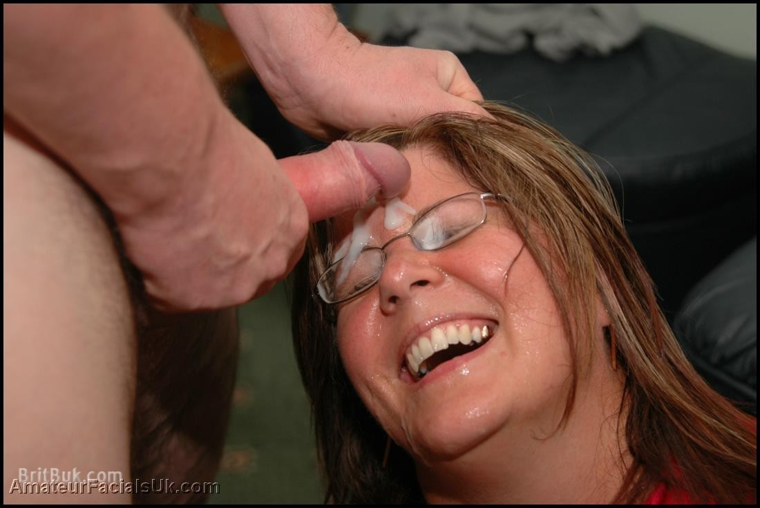 facial Mature milf glasses