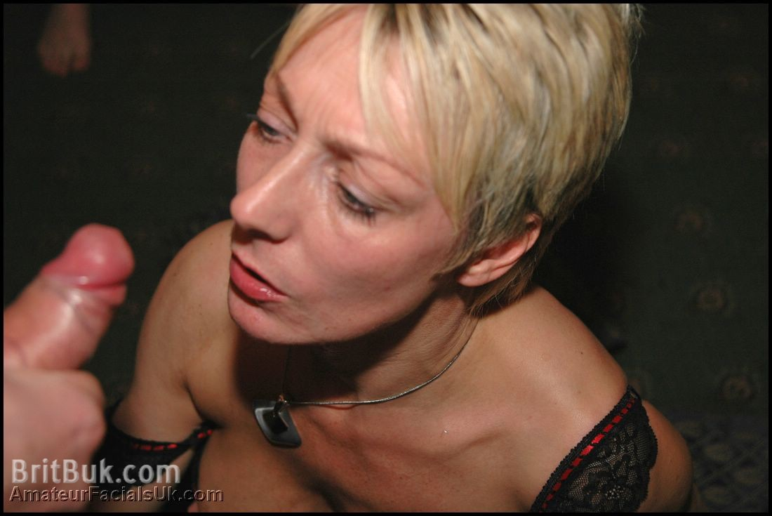 Hot milf covered with cum after a good fuck