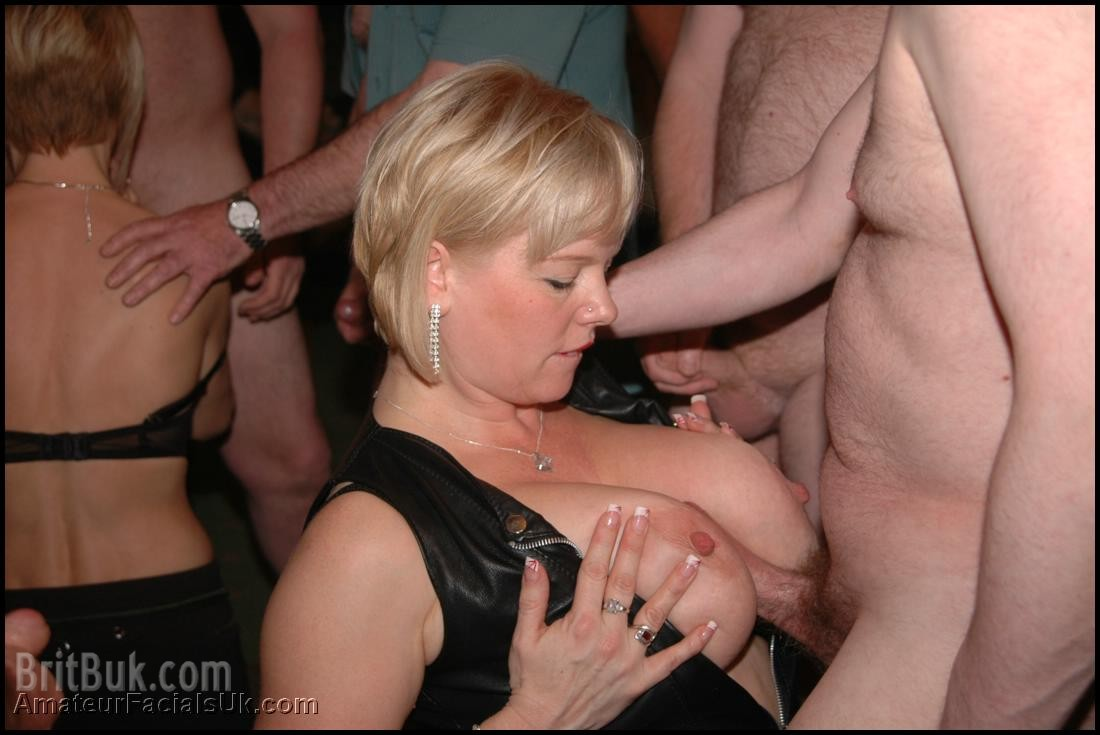 big breasted babe Dawn titjob at an amateurfacialsuk party