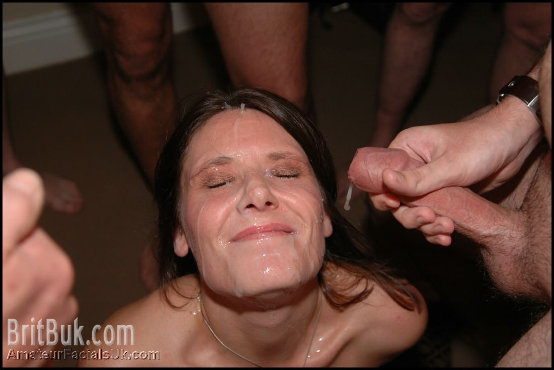 kim cum covered another semen mask served for a happy
