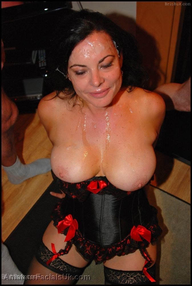 Mature milf facial lydia