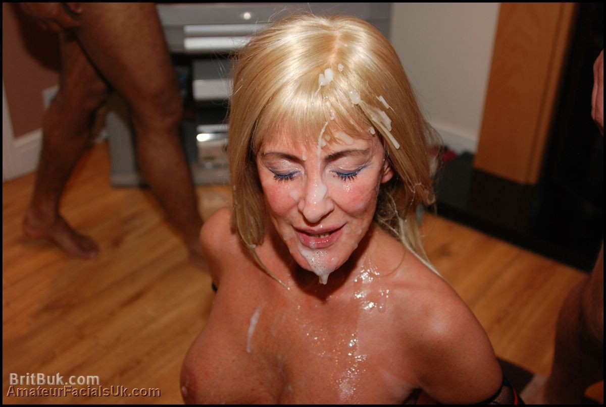 Big blonde hooters mature