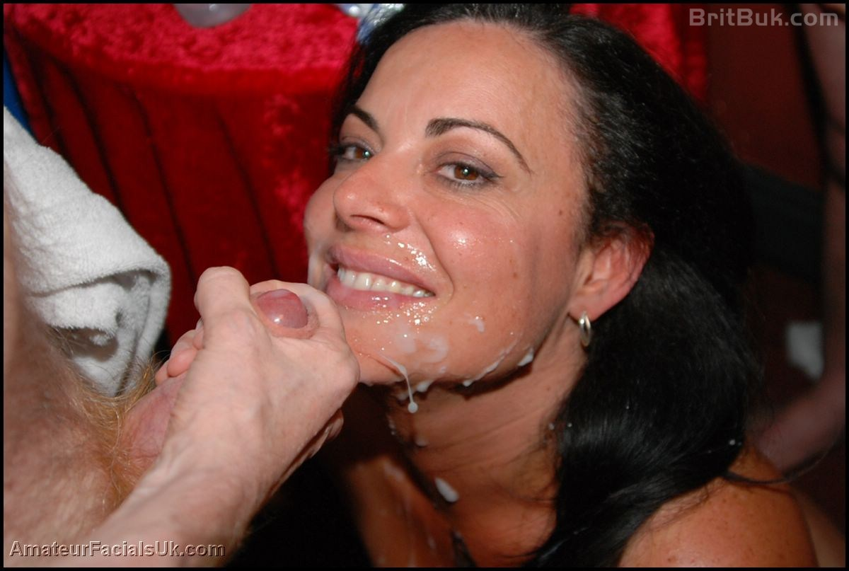 British milf bj and facial