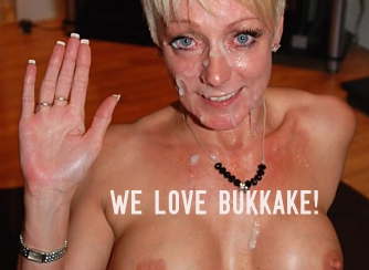 Robyn we love bukkake from their