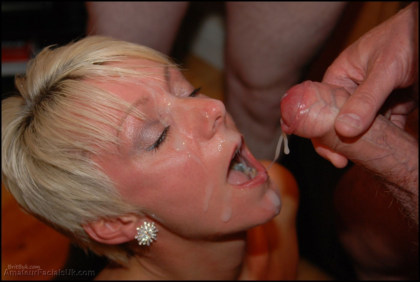 Jade british bukkake queen cum