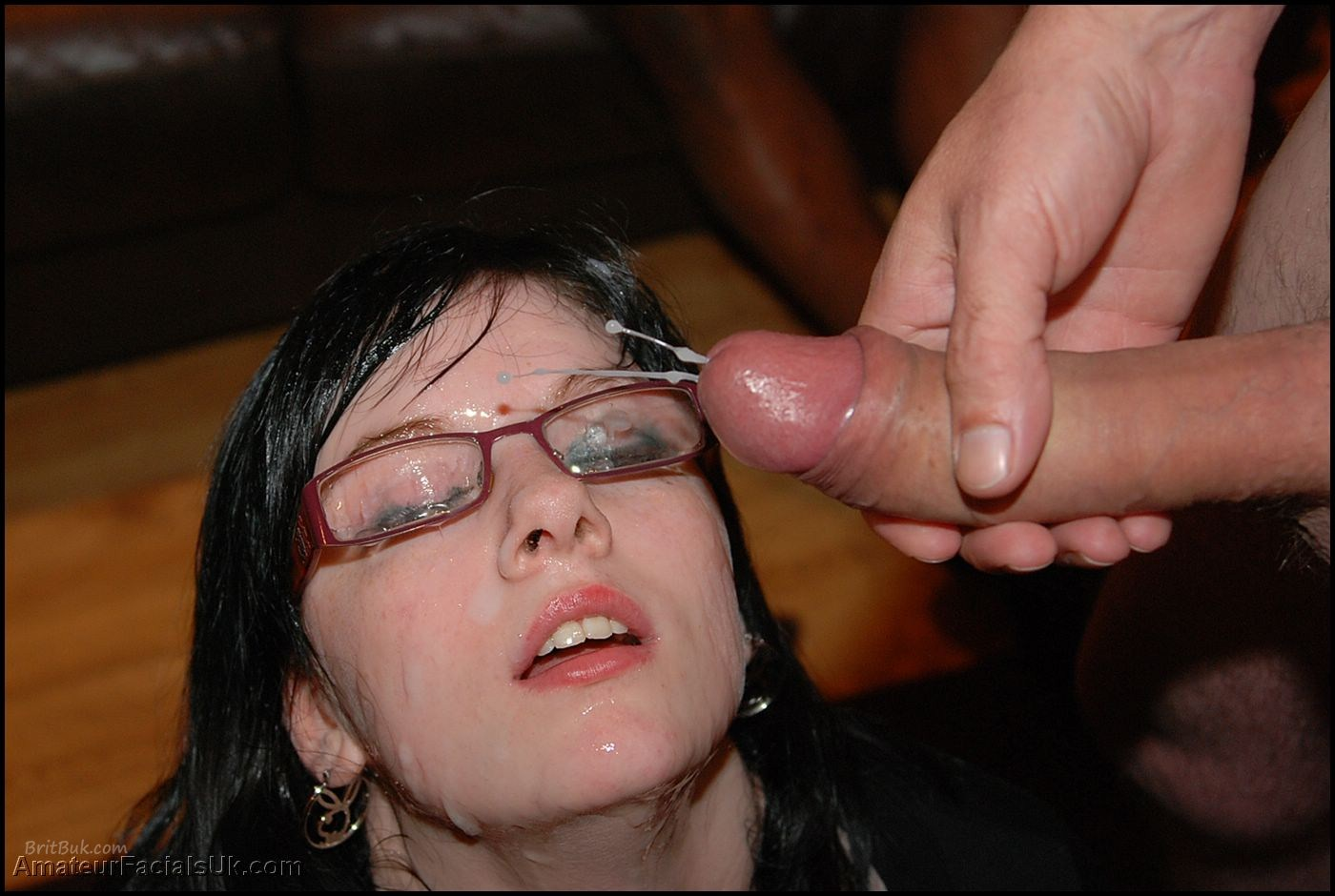 Jessica Lo pretty face decorated with cum