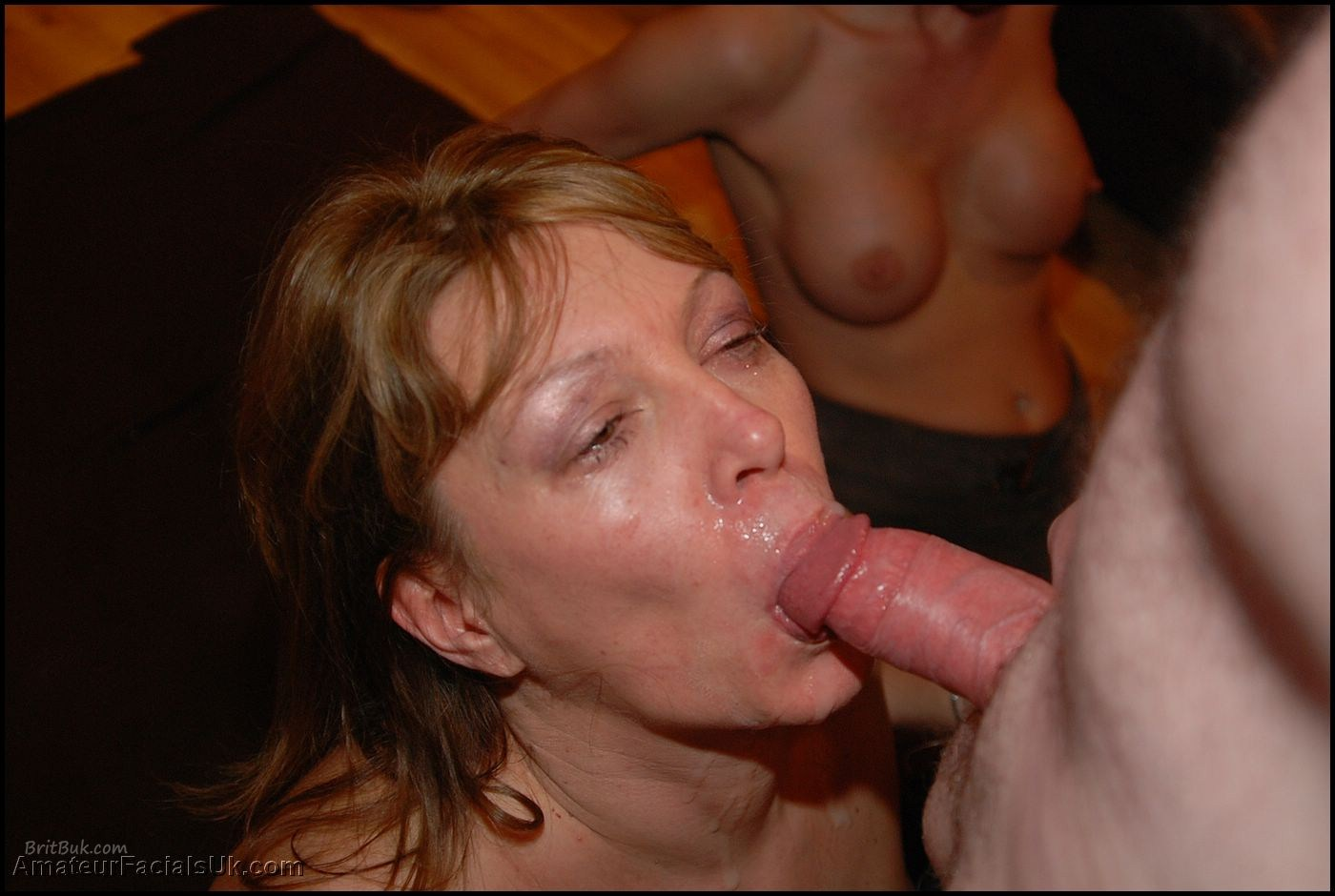 Granny loves swallowing cum