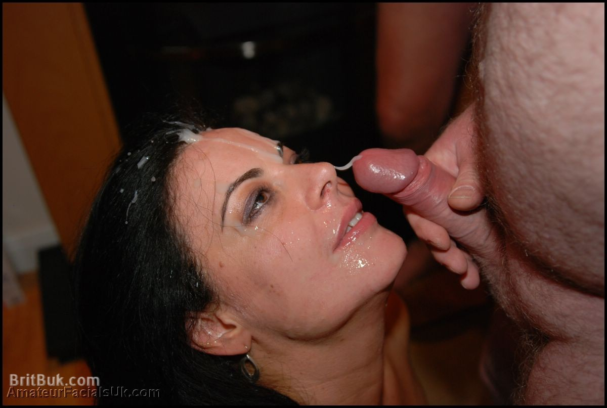 Cum party milf bukkake