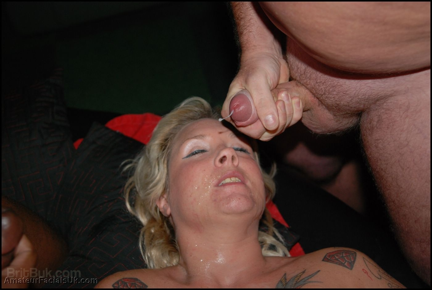 Gaping anal deep fisting