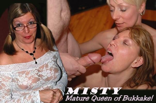Misty Mature Queen of Bukkake