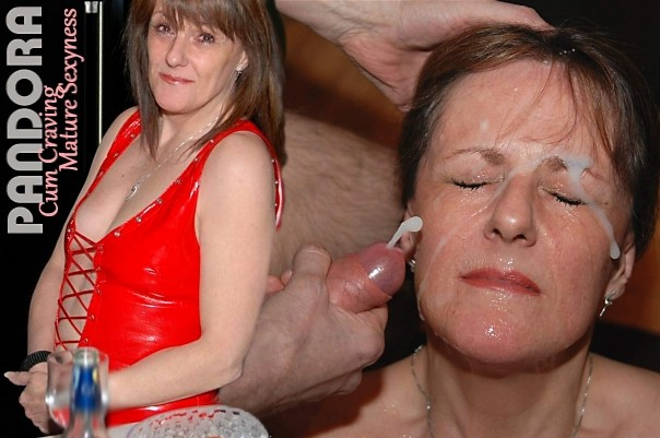 Pandora Over 50 Mature Facials & Bukkake Lover