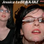 Jessica Lo Giving a BUKKAKE Master Class. Priceless.