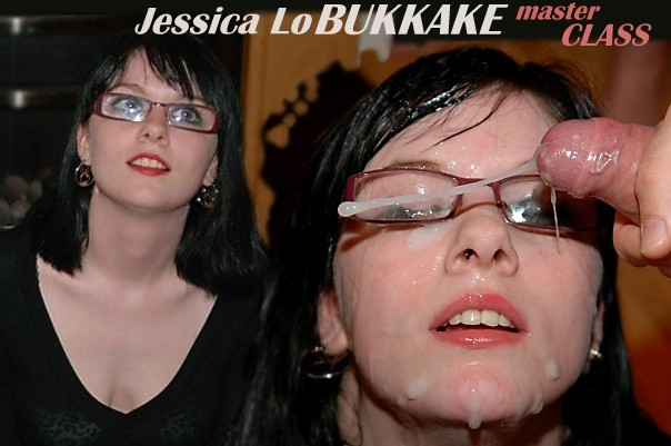 JessicaLO BukkakeMasterClass Jessica Lo Wearing Cum Covered Glasses, Amateur British Bukkake